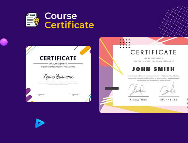 Certificate Tutor LMS Course, Learning Management System, LMS, Course