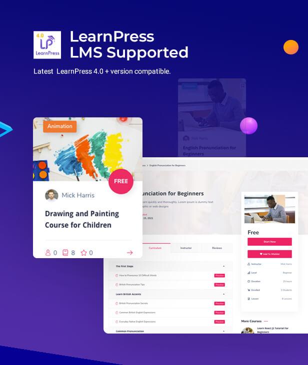 Gostudy education WordPress theme, LMS education Theme, Learnpress LMS Theme