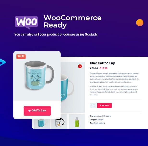 Woocommerce theme, ecommerce theme, LMS WooCommerce Theme, Shop